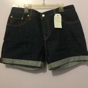 Levis shorts 501 tapered leg